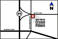 Map & Directions for Buck Owens Crystal Palace